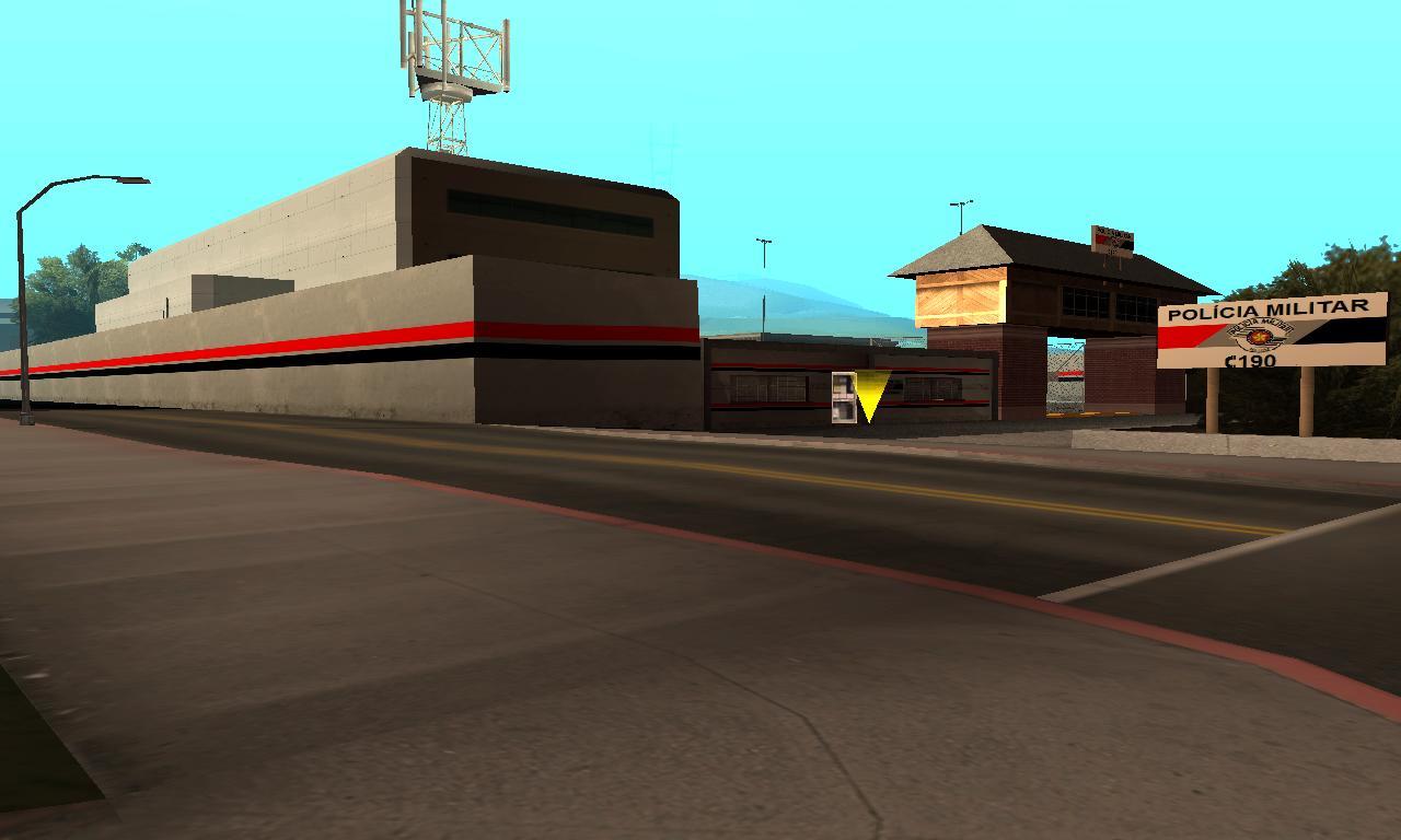Departamento da Polícia Militar de SP em San Fierro #05C6C6 1280x768 Banheiro De Avião Da Gol