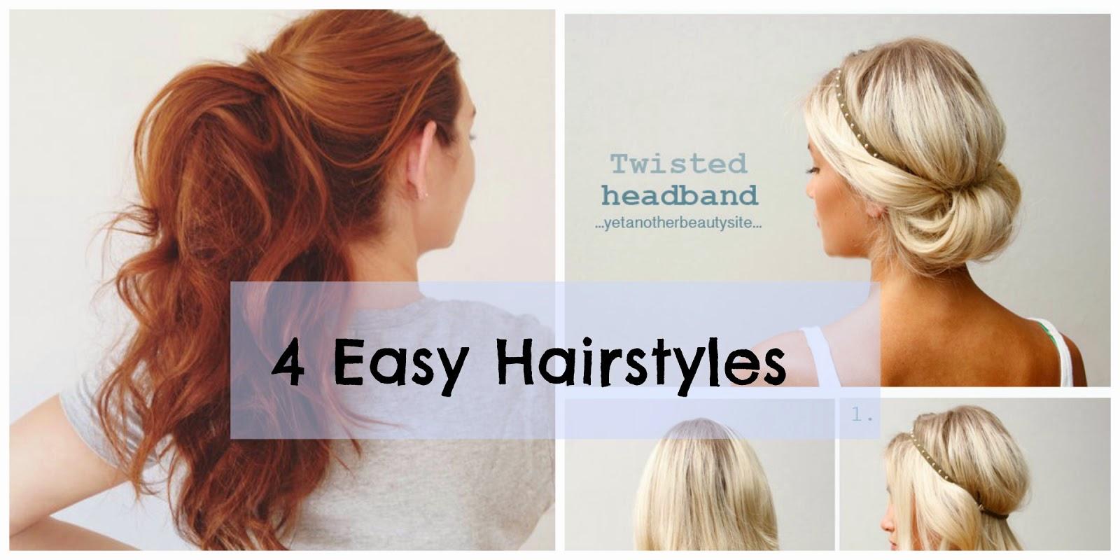 4 Easy Hair Styles Lilypad