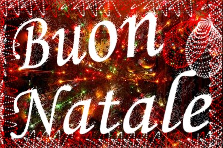 On christmas eve in italy christmas trees are decorated but the focal