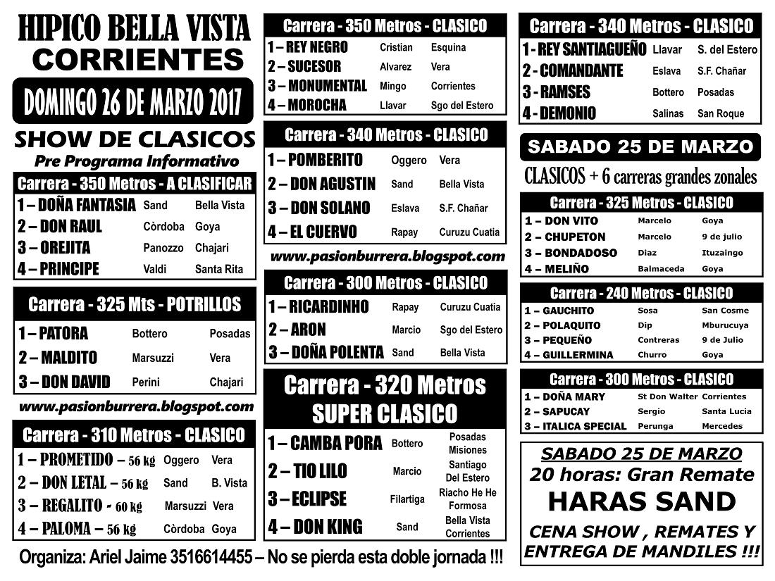 BELLA VISTA 26 - PRE PROGRAMA