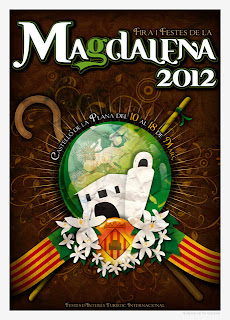 Cartel Fiestas de la Magdalena, Castelln