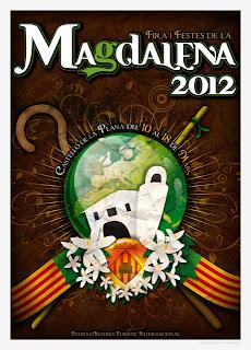 Cartel Fiestas de la Magdalena, Castellón