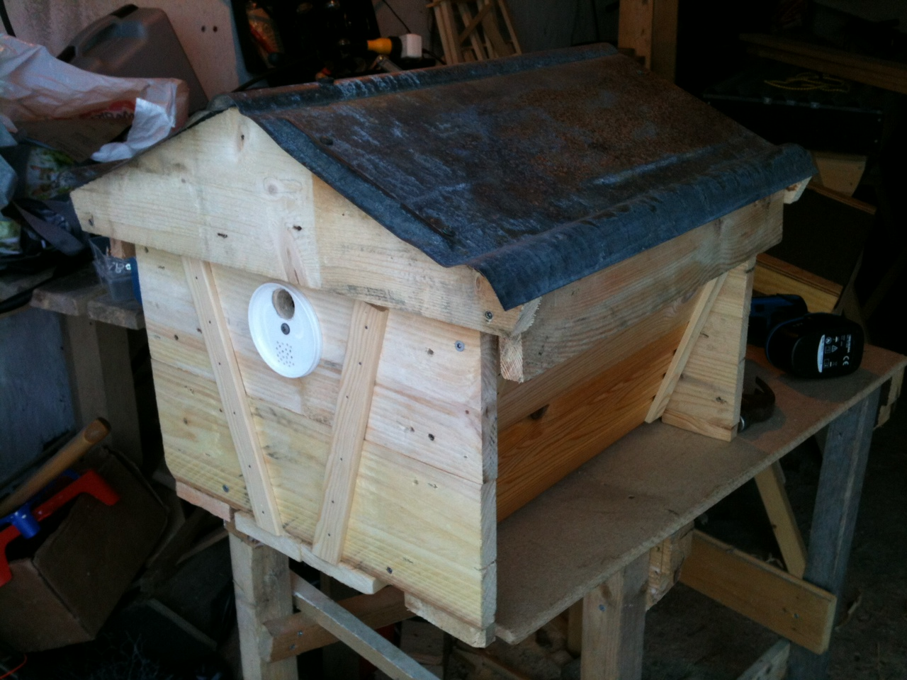 Exceptionnel Bait/Nucleus Top Bar Hive Finished