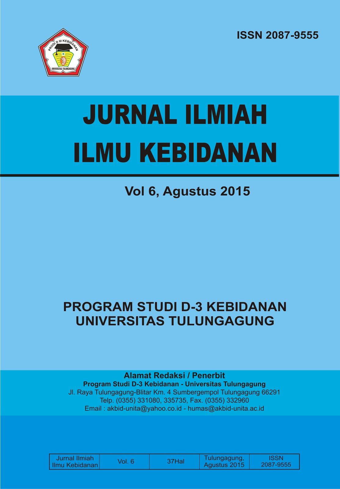 JURNAL ILMIAH ILMU KEBIDANAN VOL.6