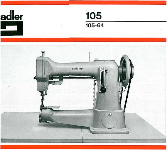 adler sewing machine parts