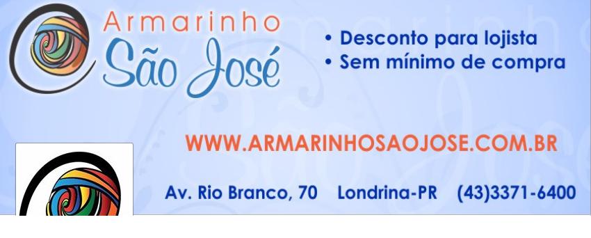 Edinir-Croche está no Armarinho São José