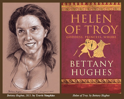 Bettany Hughes. Author and Historian. Helen of Troy. by Travis Simpkins