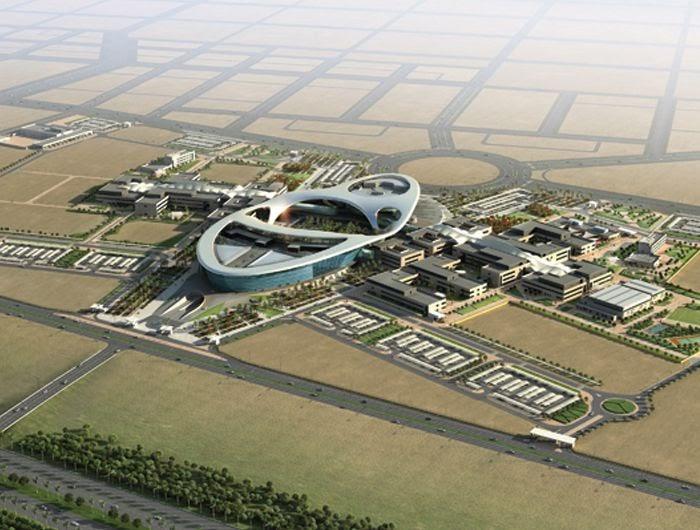 NEW Architecture - Design city: Zayed University Campus - Abu Dhabi