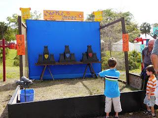 Games at Renaissance Festival in Deerfield Beach