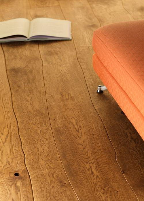 Bolefloor Curve Wood Flooring Design Detail