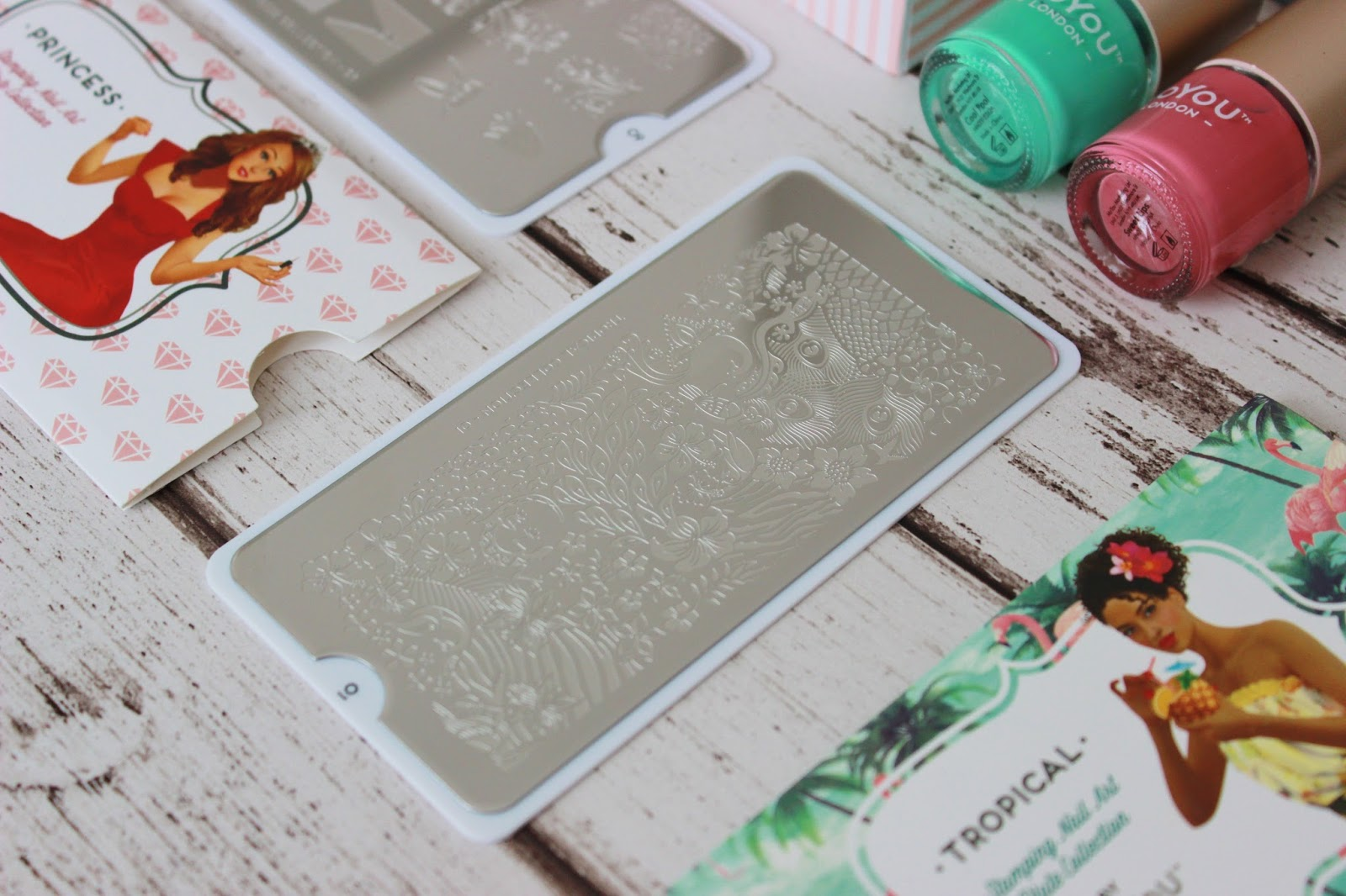 MoYou Nail Stamping kits - review and giveaway | Tales of a Pale ...