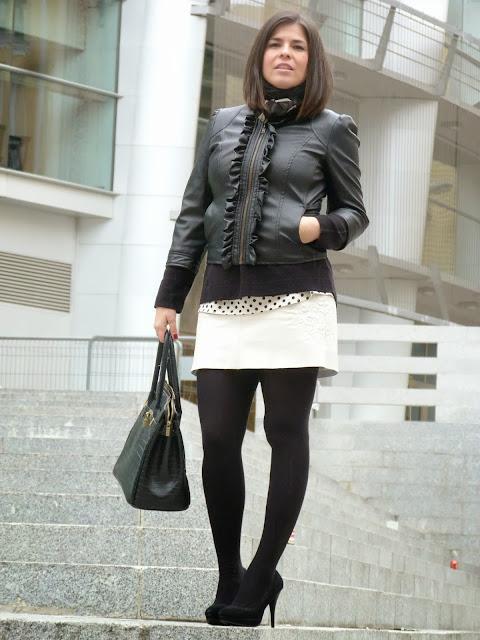 falda de cuero 2