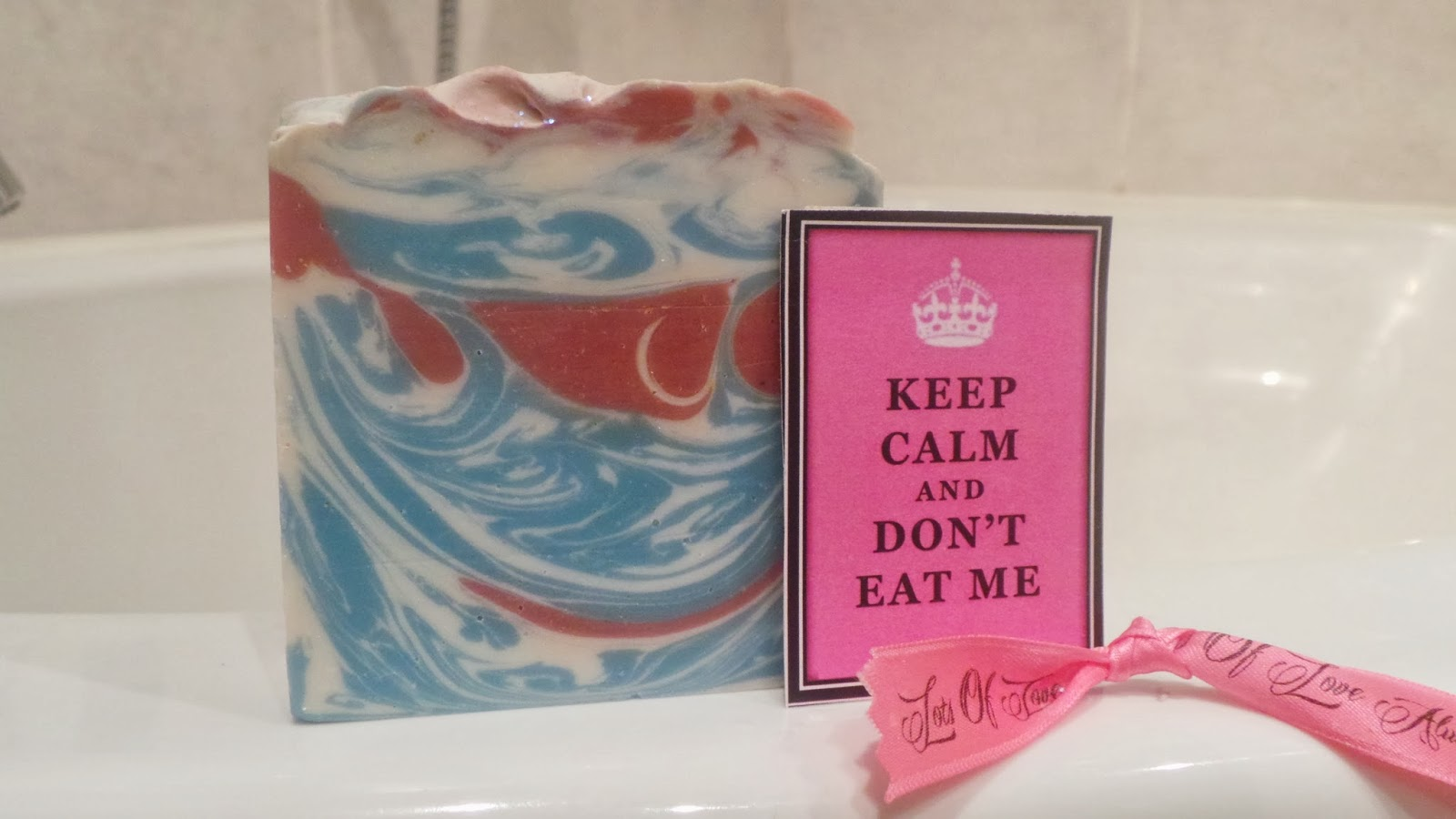 Keep calm soap