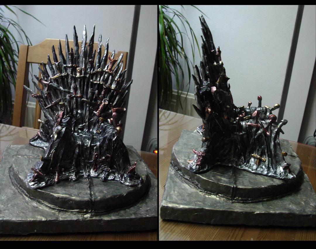 El trono de hierro de juego de tronos - Trono de hierro ...