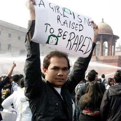 Anmol Rawat at Protest Against Delhi Gang Rape Case at Rashtrapati Bhavan