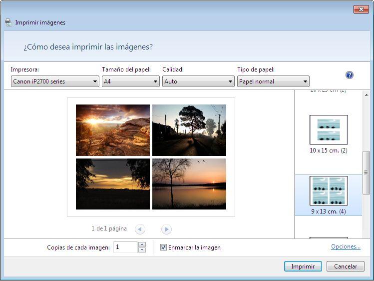 Software para imprimir fotos canon 15