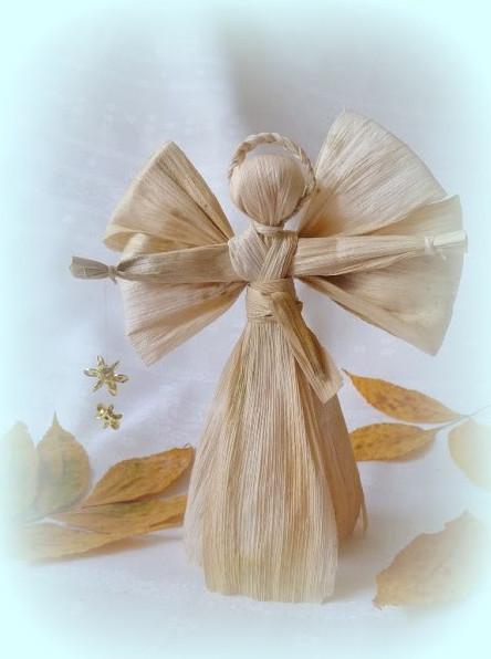 Вышивание ангелочка