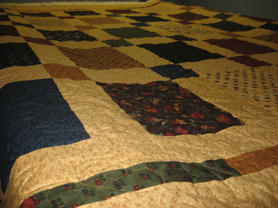 Butterfly Garden Quilt ~ Quilted!