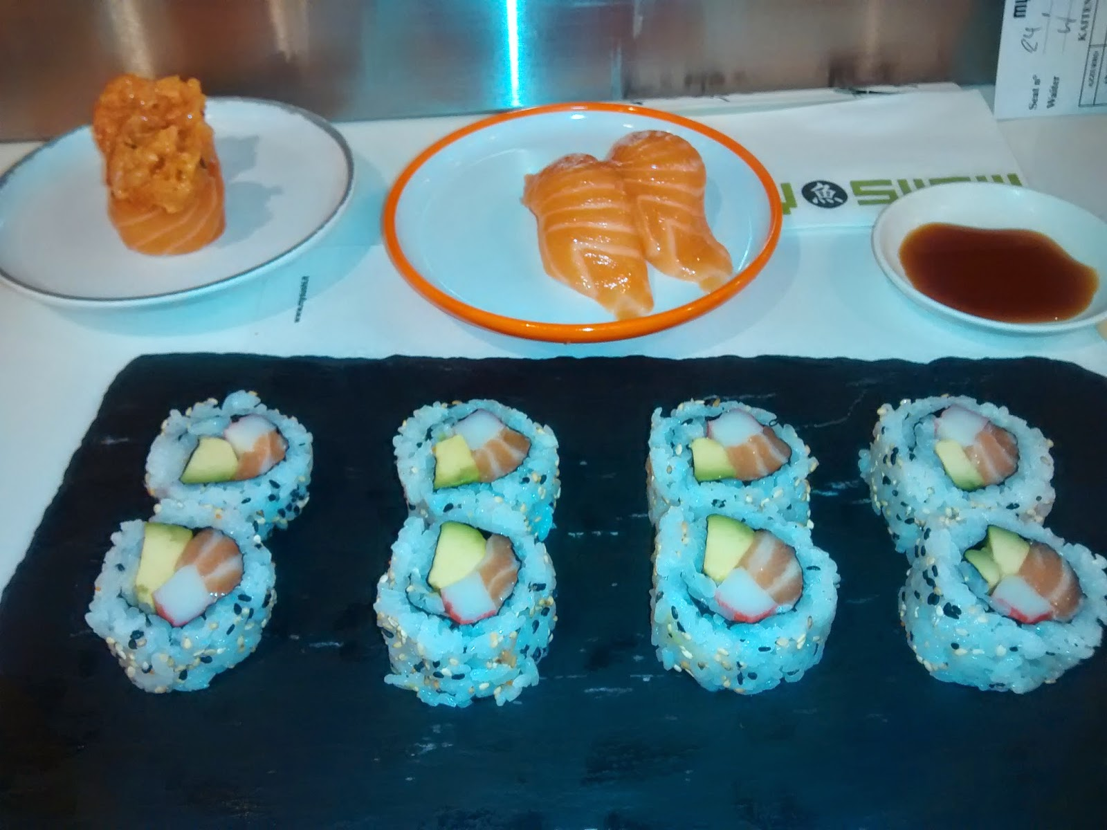 My sushi uramaki