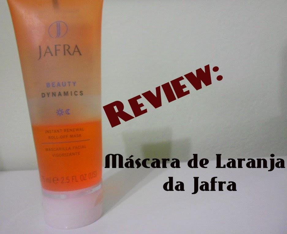 Review: Máscara de laranja da Jafra