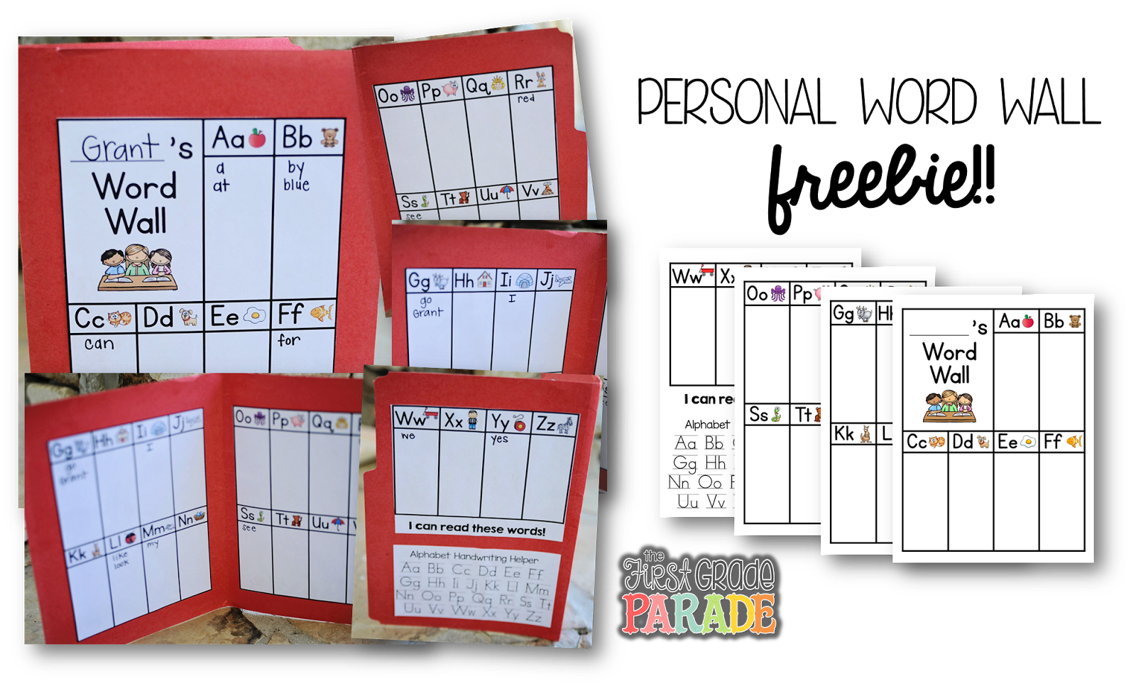 word sight First (Assessment, Grade printable Ideas The Activities,   Sight Parade: template Words!!!