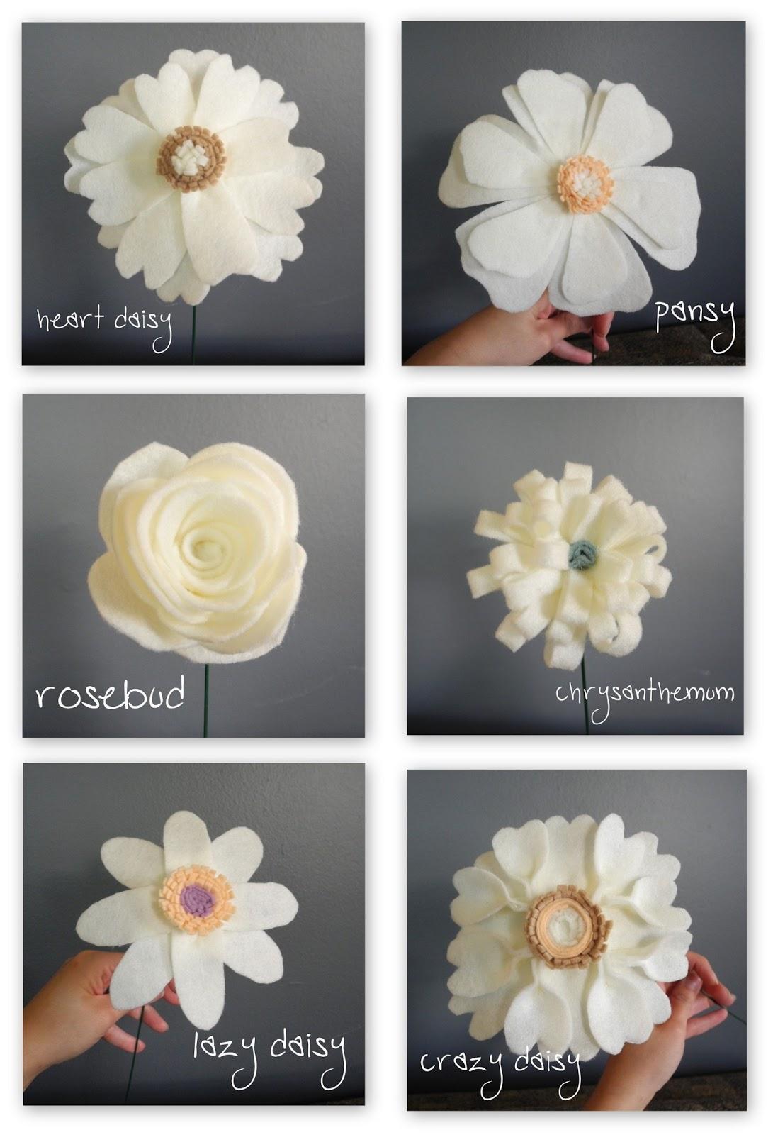 Librarian Tells All: Handmade Felt Wedding Bouquets Look Like a ...