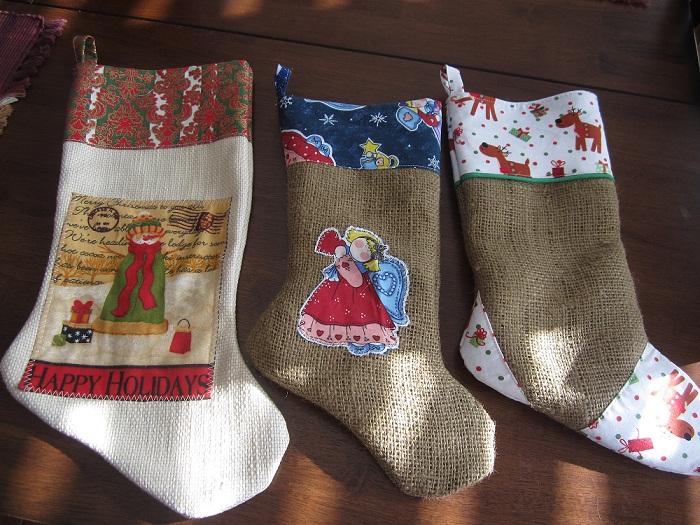 The Shabby Owl Some Homemade Christmas Stockings