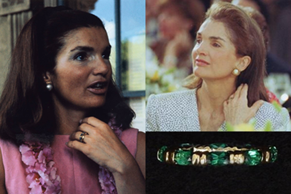 Jackie Kennedy Emerald 10th Anniversary Ring