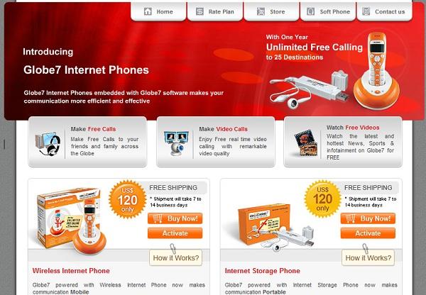 Globe7 Internet Phones