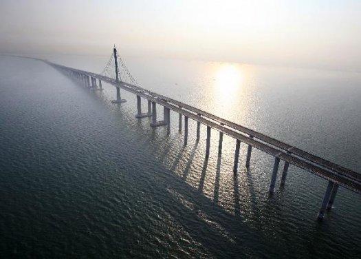 China Opens the World s Longest Bridge Over WaterLongest Bridge In The World Over Water