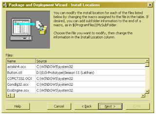 Cara membuat Setup Installer (VB 6.0)