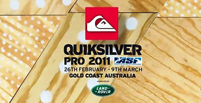 Quiksilver Pro Gold Coast 2011 - Snack Pack