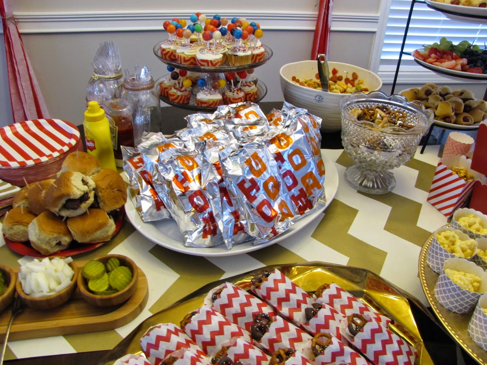 chick blog the circus birthday top party big decor ideas carnival that food under decorations popcorn bar