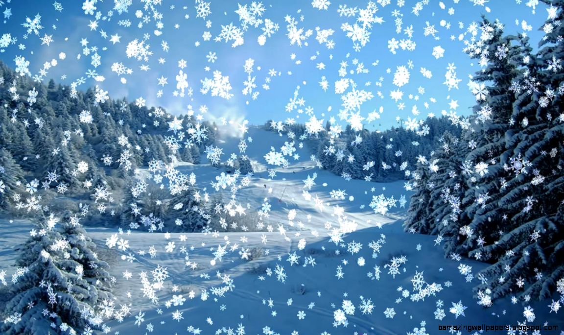 Animated Snow Falling Wallpaper   WallpaperSafari