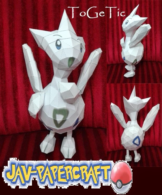 Togetic Paper Model