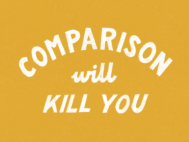 QUOTES : BE YOU, DON'T COMPARE YOURSELF shared on CreativelyCurated.com #quotes