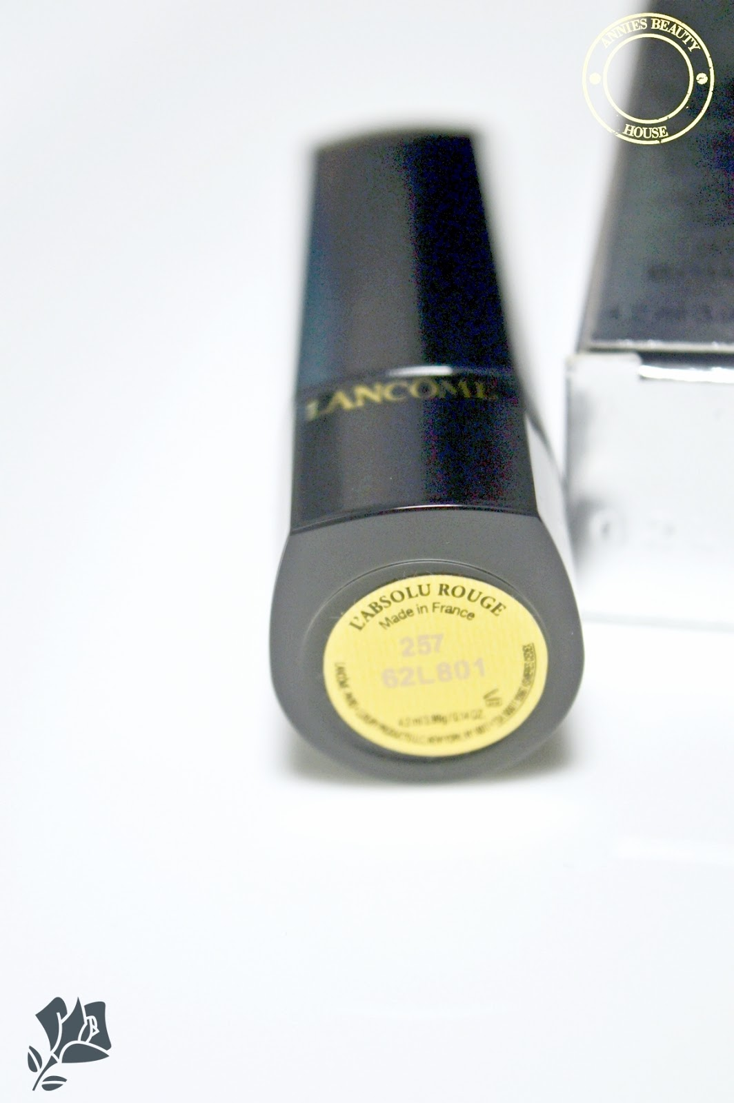 LANCÔME L'Absolu Rouge Rose Bourbon 257 - Lipstick and Color