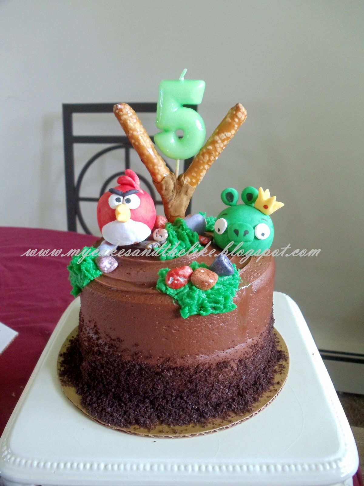 My Cakes And The Like Angry Birds Cake