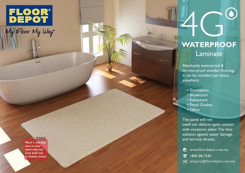4g Waterproof Laminate Floor Depot Group Of Companies