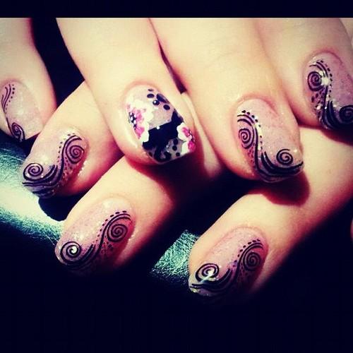 nail and art Tendência de Unhas Decoradas