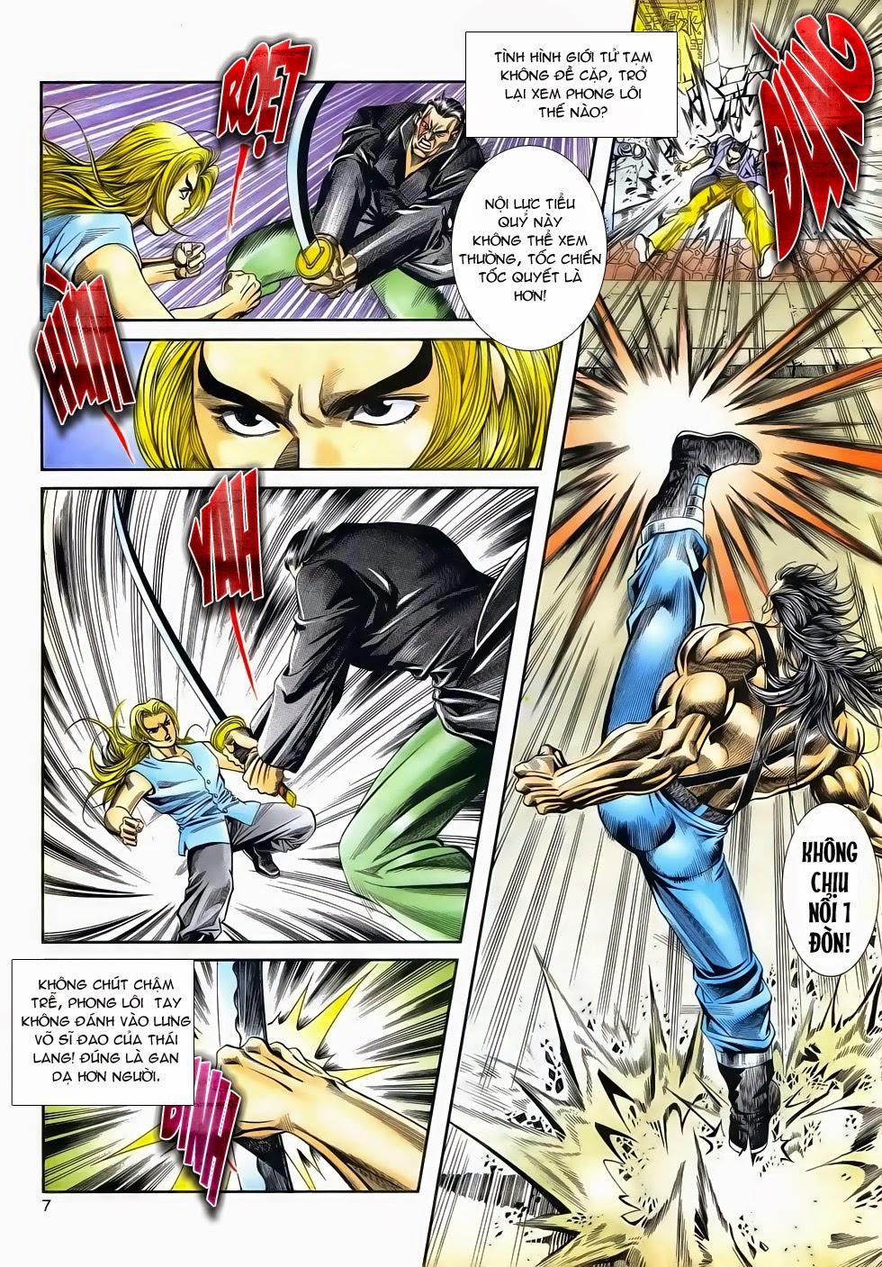 Long Hổ Phong Bạo chap 3 - Trang 7