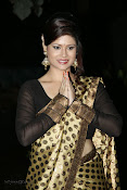 Anchor Shila Chakravarthy latest black saree Photos-thumbnail-8