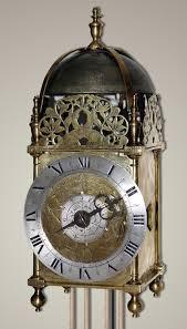 Lantern-clock orologio inglese del seicento e inizi settecento