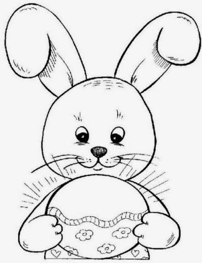 Easter's Drawings for Coloring, part 4