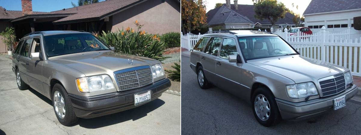 Daily turismo a tale of two wagons 1994 vs 1995 mercedes for Craigslist mercedes benz