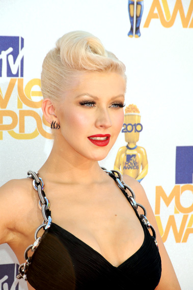 Christina Aguilera Hairstyle Trends Emo For Boys