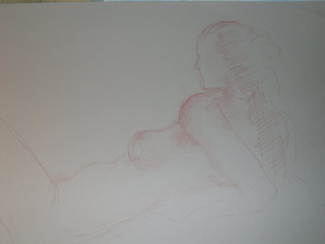 disegno a matita sanguigna