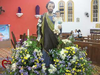Imágens da Missa de abertura da Festa de São José