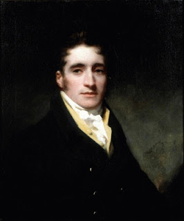 Sir Henry Raeburn painting - Commander Hugh Clapperto