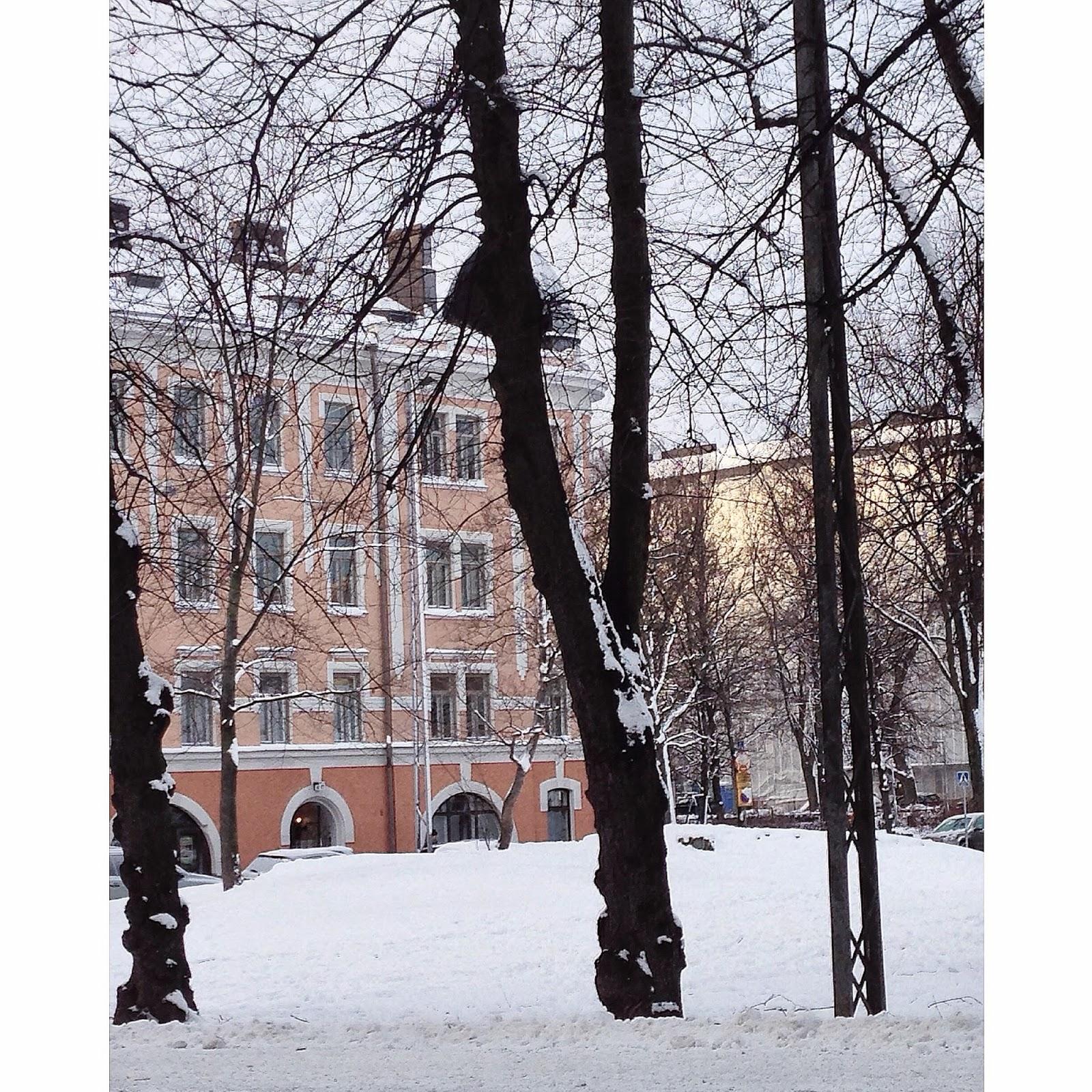 Helsinki, Winter